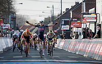 Tim Merlier (BEL/Alpecin-Fenix) wins the 53rd Le Samyn 2021<br /> <br /> ME (1.1)<br /> 1 day race from Quaregnon to Dour (BEL/205km)<br /> <br /> ©kramon