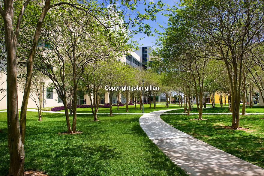 FIU College of Nursing Walkway