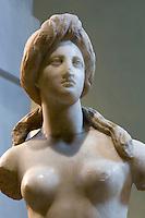 Nationalmuseum in Nicosia (Lefkosia), Aphrodite von Soli (Soloi), Marmor 1. Jh. v.Chr., Zypern (Süd)