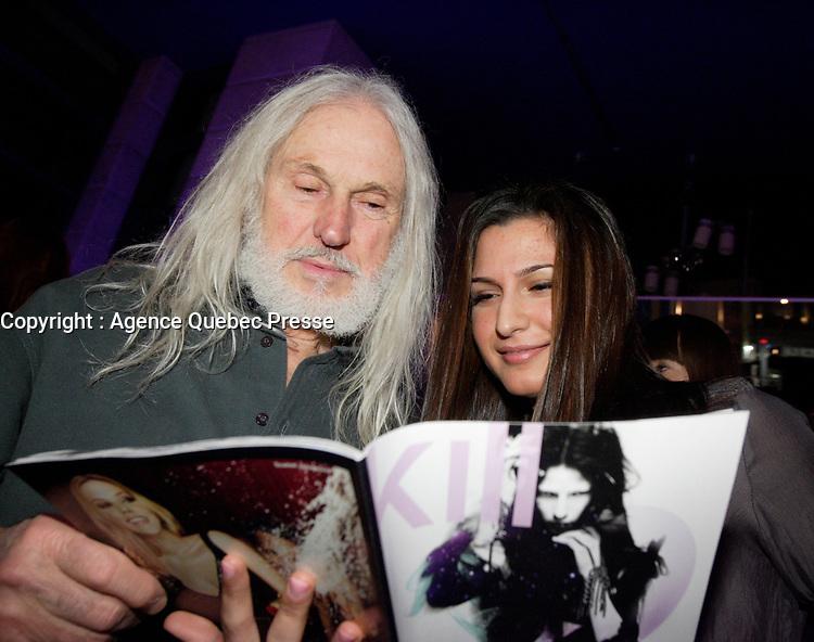 montreal (qc) Canada - dressed to kill magazine - bijouteries italiennes : Armand Vaillancourt,Sahar Bitar<br /> <br /> PHOTO : Agence Quebec Presse