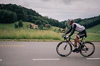 Michael Matthews (AUS/Sunweb)<br /> <br /> Stage 4: Gansingen > Gstaad (189km)<br /> 82nd Tour de Suisse 2018 (2.UWT)