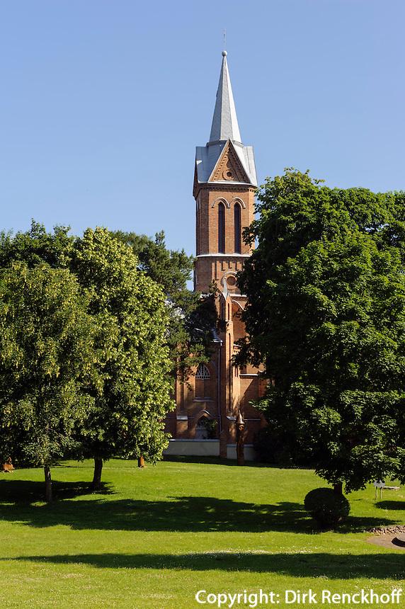 Kirche in Birstonas, Litauen, Europa