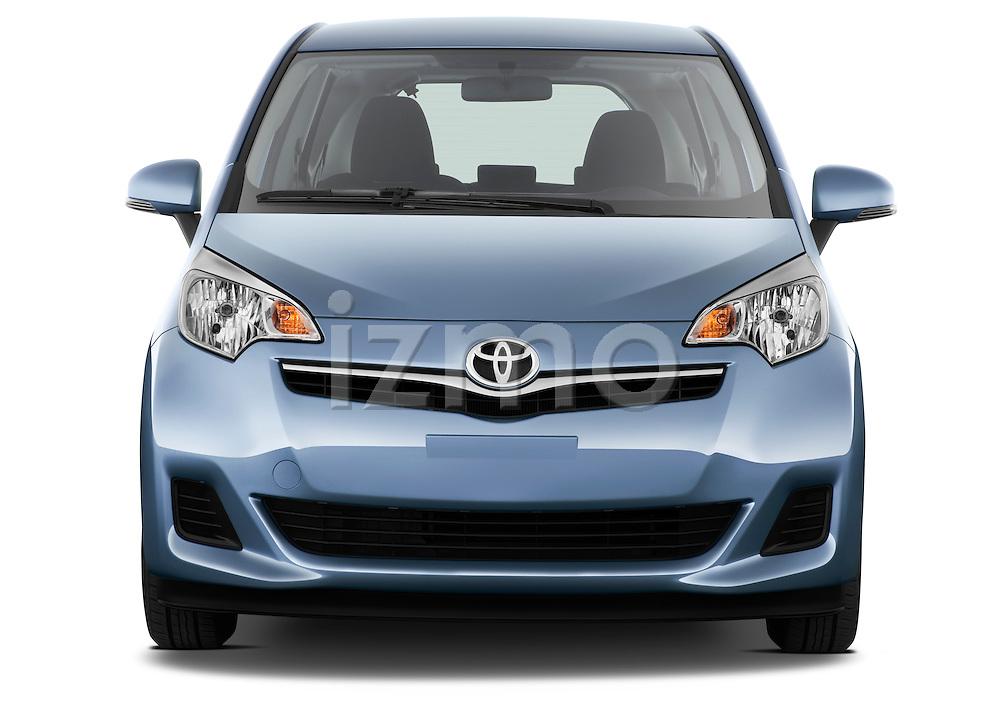 Straight front view of a 2011 Toyota Verso-S Terra 5 Door Hatchback
