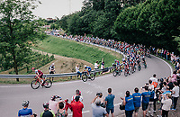 Tony Martin (GER/Katusha-Alpecin) trying to force the pace in the peloton with 30km to go<br /> <br /> stage 13 Ferrara - Nervesa della Battaglia (180km)<br /> 101th Giro d'Italia 2018