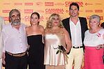 05.07.2012. Premier in Cine de Verano de La Bombilla of the film ´Carmina o Revienta´ with Paco León, Maria León and Carmina Barrios. In the image Maria Leon, Carmina Barrios and Paco Leon (Alterphotos/Marta Gonzalez)