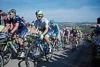 Michael Matthews (AUS/Orica-GreenEDGE) up the Gulpenerberg<br /> <br /> 50th Amstel Gold Race 2015