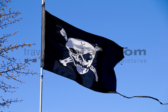Pirate-Flag, Vaduz, Liechtenstein