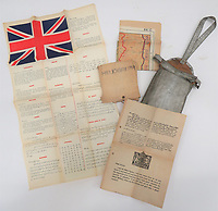 Fascinating collection of rare SOE and RAF escape and evasion items have emerged for sale