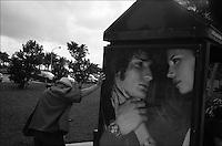 """Collins avenue<br /> From """"Miami in Black and White"""" series. North Miami Beach, FL"""