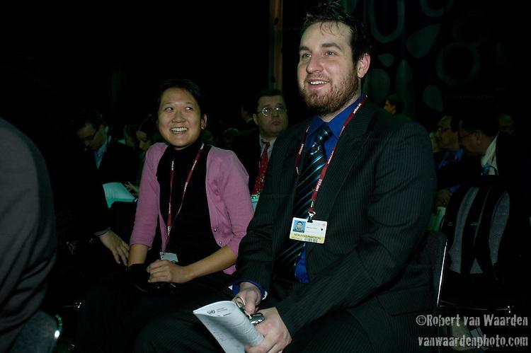 Stephan Cronin, Canada. UNFCCC COP 14 (©Robert vanWaarden ALL RIGHTS RESERVED)