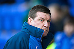 St Johnstone v Aberdeen…22.04.16  McDiarmid Park, Perth<br />Tommy Wright<br />Picture by Graeme Hart.<br />Copyright Perthshire Picture Agency<br />Tel: 01738 623350  Mobile: 07990 594431