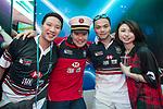 HSBC guests attend the Cathay Pacific / HSBC Hong Kong Sevens at the Hong Kong Stadium on 29 March 2014 in Hong Kong, China. Photo by Leena Chatlani / Power Sport Images