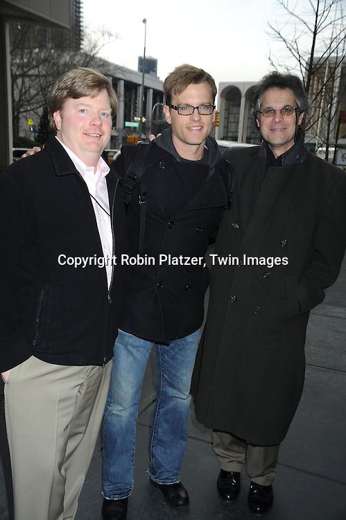 Brian O'Mara, Trevor St John and Rick Figarola