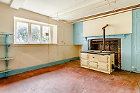 BNPS.co.uk (01202) 558833. <br /> Pic: Strutt&Parker/BNPS<br /> <br /> Pictured: Kitchen with stove. <br /> <br /> Nun like it...<br /> <br /> A former convent that has hardly been touched in 80 years is on the market for £450,000.<br /> <br /> Until recently Posbury House was home to an Anglican Franciscan nunnery which moved to the Devon property to escape the danger of German bombardment in the Second World War.<br /> <br /> The eight-bedroom manor house and two acres of gardens have been well looked after by the nuns, but the property is now in need of refurbishment and buyers are relishing the idea of a project.<br /> <br /> Estate agents Strutt & Parker say the property has attracted an extraordinary amount of interest with more than 150 viewings in just ten days. They are now asking for best and final offers by midday on Wednesday.