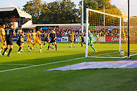 9th October 2021;  VBS Community Stadium, Sutton, London; EFL League 2 football, Sutton United versus Port Vale; Nathan Smith (6) of Port Vale look on as his team scores for 2-3 in the 78th minute.