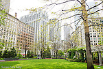 The Norman J. Leventhal Park at PostOffice Square, Boston, Massachusetts, USA