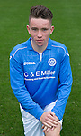 St Johnstone FC Academy U17's<br /> Keiron Sneddon<br /> Picture by Graeme Hart.<br /> Copyright Perthshire Picture Agency<br /> Tel: 01738 623350  Mobile: 07990 594431