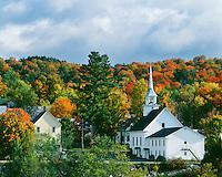 Fall scene in Groton, Vt