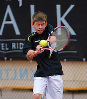 07-08-13, Netherlands, Rotterdam,  TV Victoria, Tennis, NJK 2013, National Junior Tennis Championships 2013, Lars Gillessen<br /> <br /> <br /> Photo: Henk Koster