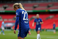 29th August 2020; Wembley Stadium, London, England; Community Shield Womens Final, Chelsea versus Manchester City; Erin Cuthbert of Chelsea Women reacts as a chance is missed on goal