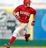 21 April 2007: University of Hartford Hawks' Adam Bowser, a Junior from Abington, MA, in action during a double-header against the University of Vermont Catamounts at Historic Centennial Field, in Burlington, Vermont...Mandatory Photo Credit: Ed Wolfstein Photo