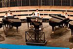 """Sul Belvedere di Villa Rufolo<br /> """"Piano Thunderstorm"""" Concerto per 8 pianoforti e 24 pianisti <br /> Pianisti docenti dell'Amalfi Coast Music & Arts Festival, tra i quali: <br /> Jerome Lowenthal, Ursula Oppens, James Giles, Chi Wu, Inna Faliks, HieYon Choi, Thomas Rosenkranz, Yun Sun, Hong Xu, Chun-Chieh Yen, Michael Coonrod, Chen-Shen Fan, Tonia Miki, Fabrizio Soprano<br /> A questi pianisti si sono aggiunti i migliori allievi dell'edizione 2019<br /> <br /> Musiche di Wagner, Liszt, Sousa, Offenbach, Bizet, Tchaikowsky<br /> <br /> In collaborazione con Amalfi Coast Music & Arts Festival"""