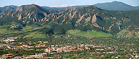 University of Colorado Boulder campus. May 2013