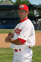 June 30th, 2007:  Will Groff of the Batavia Muckdogs, Short-Season Class-A affiliate of the St. Louis Cardinals at Dwyer Stadium in Batavia, NY.  Photo by:  Mike Janes/Four Seam Images