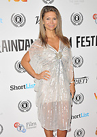 """Simona Roman attends the """"My Hero"""" Raindance Film Festival UK film premiere, Vue Piccadilly cinema, Lower Regent Street, London, England, UK, on Friday 25 September 2015. <br /> CAP/CAN<br /> ©Can Nguyen/Capital Pictures"""