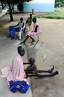 SOUTH SUDAN, Lakes State, hospital in village Mapuordit / SUED-SUDAN, Bahr el Ghazal regio , Lakes State, Mary Immaculate DOR Hospital der Comboni Missionare im Dinka Dorf Mapuordit
