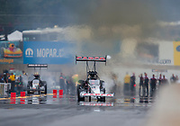 Sep 14, 2019; Mohnton, PA, USA; NHRA top fuel driver Billy Torrence during qualifying for the Reading Nationals at Maple Grove Raceway. Mandatory Credit: Mark J. Rebilas-USA TODAY Sports
