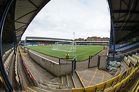 A general view from the corner of the North Stand during Southend United vs West Ham United Under-21, EFL Trophy Football at Roots Hall on 8th September 2020