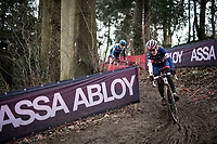 Clara Honsinger (USA/Cannondale-Cyclocrossworld)<br /> <br /> 2021 UCI CX World Cup Overijse (BEL)<br /> Vlaamse Druivencross<br /> <br /> Women's Race<br /> <br /> ©kramon