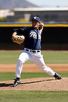 Rob Musgrave - San Diego Padres - 2009 spring training.Photo by:  Bill Mitchell/Four Seam Images