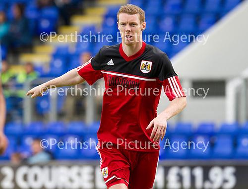 Bristol City FC.... Season 2012-13.Stephen Pearson.Picture by Graeme Hart..Copyright Perthshire Picture Agency.Tel: 01738 623350  Mobile: 07990 594431