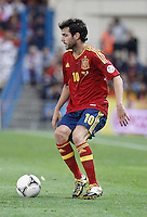 Spain's national team Cesc Fabregas during match. October 16, 2012. (ALTERPHOTOS/Alvaro Hernandez) /NORTEPhoto