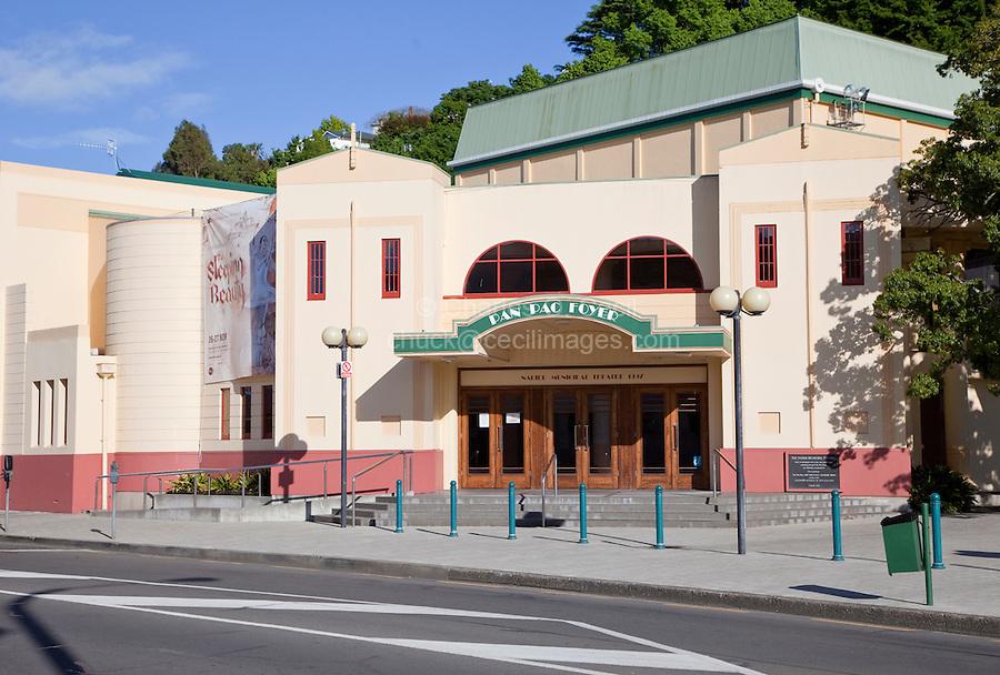Art Deco Style Municipal Theater, Napier, north island, New Zealand.