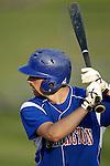 WOLCOTT, CT, 06 JULY 2011-070611JS02--ACTION MAN-Torrington Garrett Perusse (9) at bat during their American Legion game against Wolcott Wednesday at Wolcott High School.<br /> Jim Shannon/Republican-American