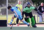 Northland v Counties Manukau. Round 2. Men's U18 Hockey Nationals, Gallagher Hockey Centre, Hamilton. Friday 16 July 2021. Photo: Simon Watts/www.bwmedia.co.nz