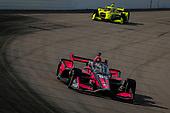 #55: Alex Palou, Dale Coyne Racing with Team Goh Honda, #22: Simon Pagenaud, Team Penske Chevrolet