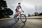 Simon Geschke Team Giant-Alpecin training camp held around Cambrils, Spain. 26 Janiuary 2015<br /> Photo: Team Giant-Alpecin/www.newsfile.ie