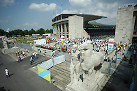 Berlin's Olympic Stadium was the venue as Germany defeated Ecuador 3-0 in their FIFA World Cup Group A match in Berlin, Germany, June 20, 2006.