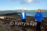 Christmas Swim from Cnuicín Pier in aid of the Kerry Hospice Foundation all set to go ahead from the 21st Dec - 2nd Jan pictured here l-r; Marion O'Shea & Yvonne O'Connell.