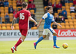 St Johnstone v Aberdeen…01.07.17  McDiarmid Park     Pre-Season Friendly <br />Aaron Comrie<br />Picture by Graeme Hart.<br />Copyright Perthshire Picture Agency<br />Tel: 01738 623350  Mobile: 07990 594431