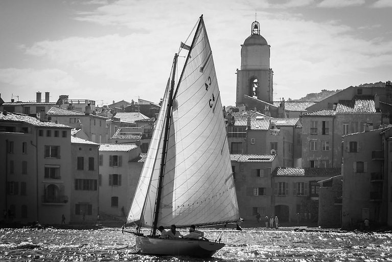 The Cork Harbour One Design Jap is the oldest yacht in the 10th-anniversary edition of the Centenary Trophy, and the smallest of the competing boats in Saint Tropez