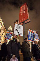 """19.01.2015 - """"No to Backdoor Privatisation"""" Emergency Protest at the National Gallery"""