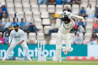 Devon Conway, New Zealand clips to the fine leg boundary for four runs during India vs New Zealand, ICC World Test Championship Final Cricket at The Hampshire Bowl on 20th June 2021