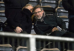 St Johnstone v Aberdeen…13.12.17…  McDiarmid Park…  SPFL<br />Jimmy Nichol and Craig Levein<br />Picture by Graeme Hart. <br />Copyright Perthshire Picture Agency<br />Tel: 01738 623350  Mobile: 07990 594431