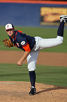 February 21 2010: Kevin Rath of Cal. St. Fullerton during game against Cal. St. Long Beach at Goodwin Field in Fullerton,CA.  Photo by Larry Goren/Four Seam Images