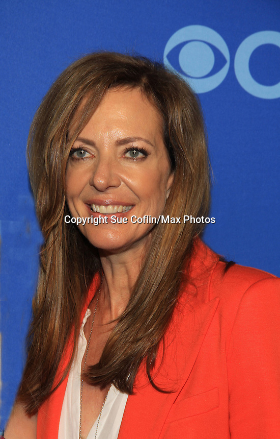 "Guiding Light Allison Janney in new show ""Mom"" at the CBS Upfront on May 15, 2013 at Lincoln Center, New York City, New York. (Photo by Sue Coflin/Max Photos)"